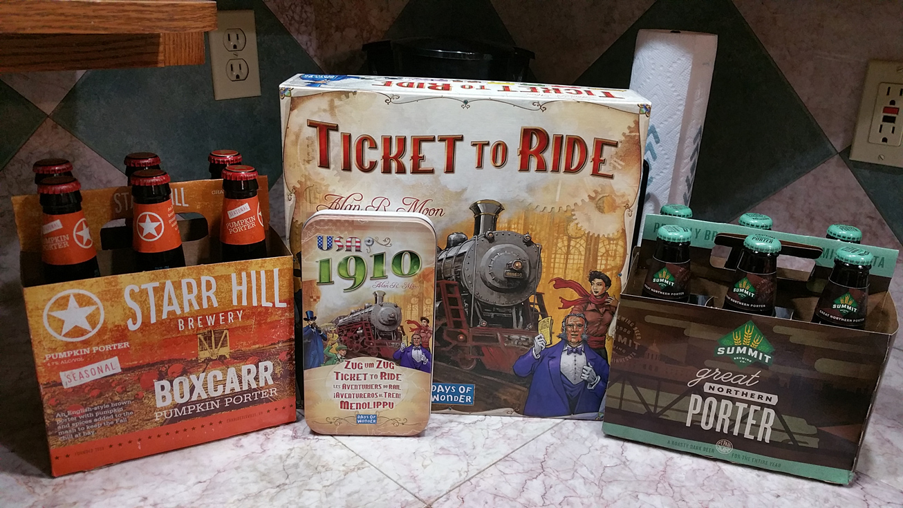 Train Beer for a Train Game