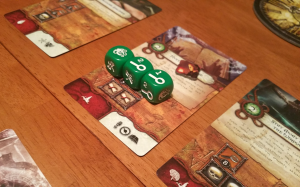 Some combinations are tough when you're only rolling 5 dice.